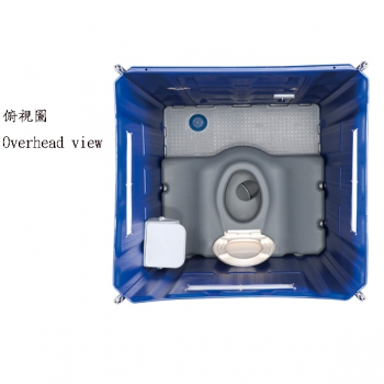 Replaceable Waste Tank Toilet(Seat type)